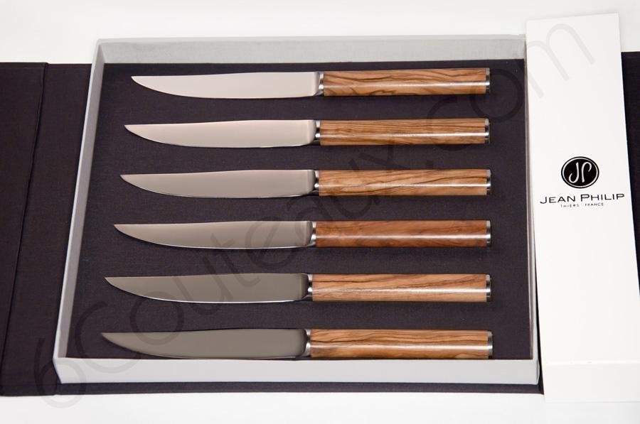 couteaux steak signature jean philip orf vre olivier coutellerie fran aise design. Black Bedroom Furniture Sets. Home Design Ideas